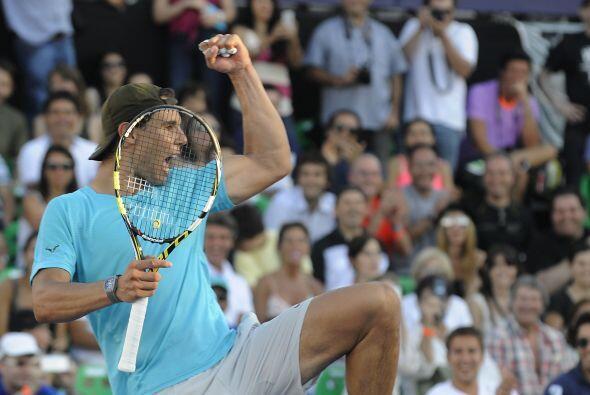 Otro que vivió un buen año fue Rafael Nadal. Después de 7 meses de retir...