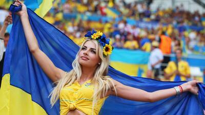 La belleza ucraniana, un privilegio de la final de Champions League en Kiev