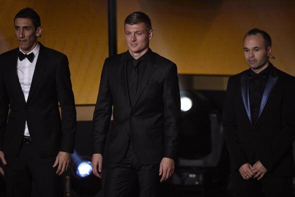 El alemán Toni Kroos, campeón del mundo con su selección en Brasil 2014...