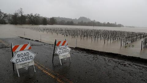 El oeste de EEUU en alerta por el clima invernal