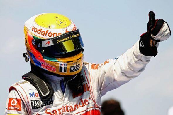 Para Lewis Hamilton fue un segundo lugar muy luchado, que lo confirmó en...