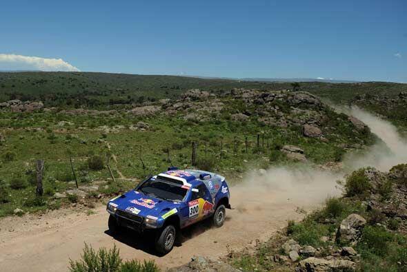 La primera etapa de competencia del Rally Dakar 2010 arrancó el sábado d...