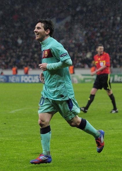 Cuando el partido terminaba, llegó el merecido gol para el mejor del mundo.