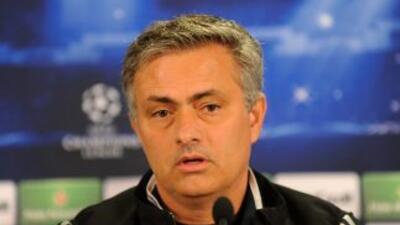 El entrenador madridista compareció en rueda de prensa previo al partido...