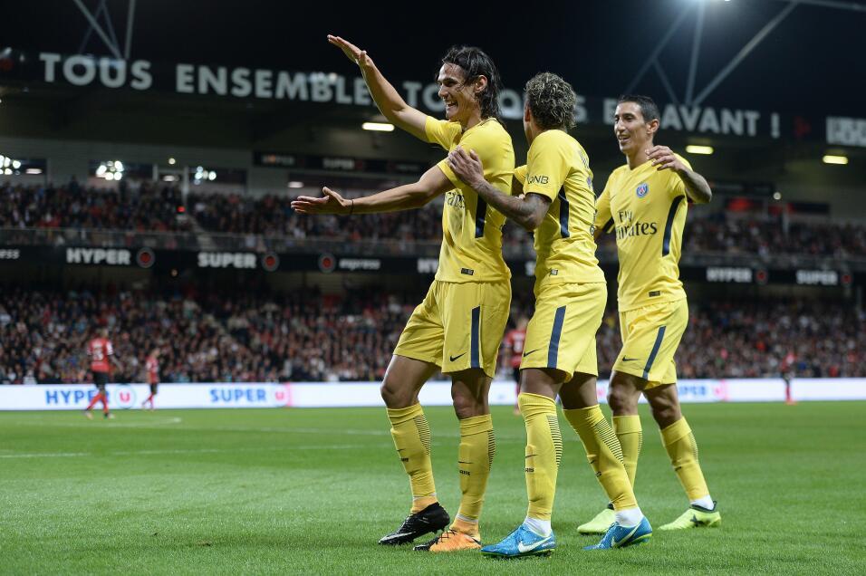 Neymar tuvo debut de ensueño en triunfo del PSG GettyImages-831108418.jpg