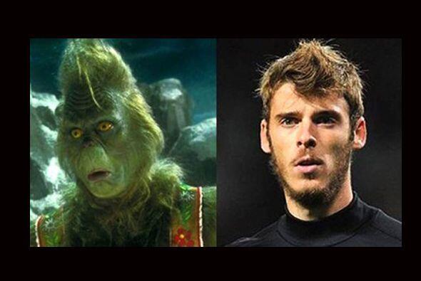 Con un poco de color verde, David De Gea podría convertirse en el Grinch...