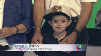 ¡Pa´lante, el pequeño Diego se mantiene estable de salud y muy feliz!