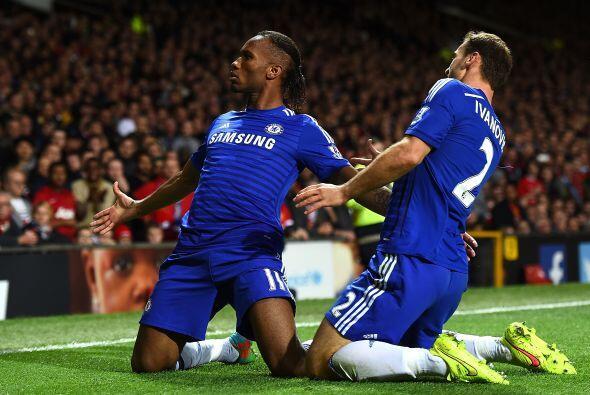 Chelsea lucía con la oportunidad de salir de Old Trafford más líder.