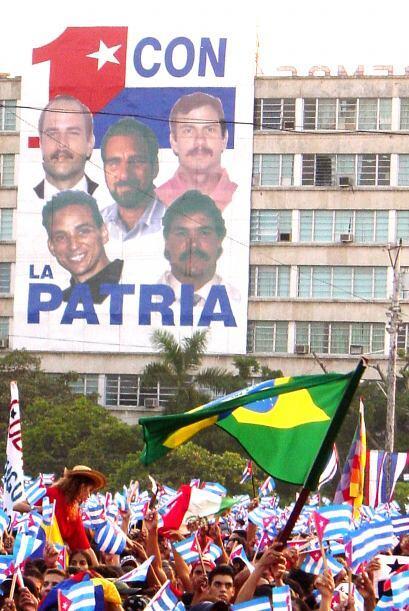 """""""Grupo de los 5""""   4.- Fernando González Llort  (La Habana, 18 de agosto..."""