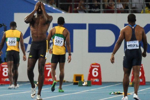 Bolt fue la víctima del cambio a la regla que impuso la IAAF en 2...