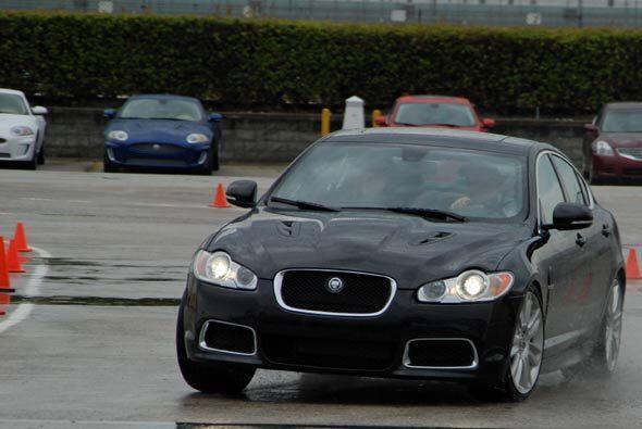 A pesar de que la sesión de la Jaguar Performance Academy está incluída...
