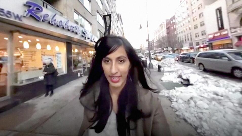 Rajpreet Heir estaba en la línea L del metro de New York, el 24 de marzo...