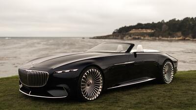 El Vision Mercedes-Maybach 6 Cabriolet es una ventana al futuro de los excesos