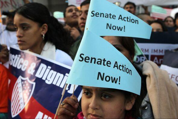 Un grupo de senadores elabora un proyecto de ley que, de ser aprobado po...