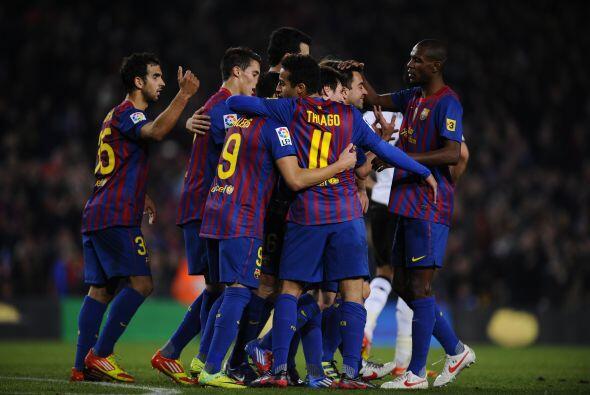Los jugadores barcelonistas se mostraron como si hubieran recuperado la...