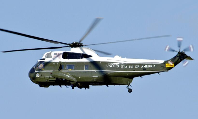 Así es el Marine One, el helicóptero de la Casa Blanca