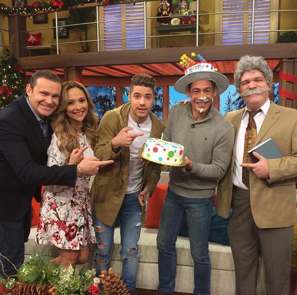 Johnny Lozada cumple 2015