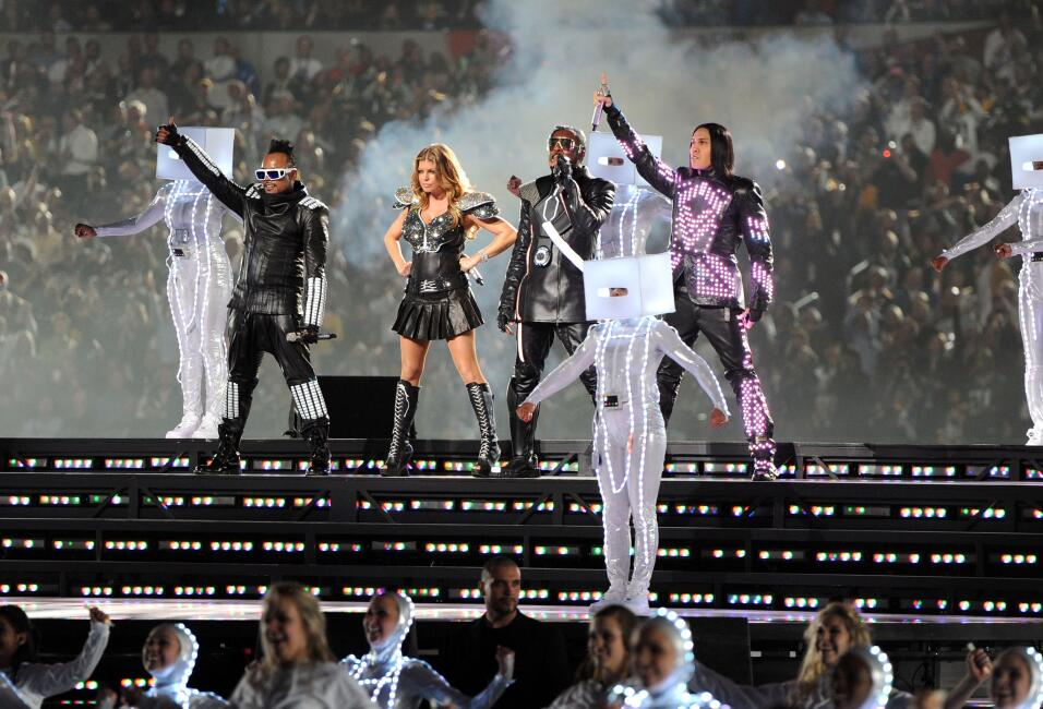 The Black Eyed Peas en su show de 2011