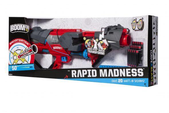 La Boomco Rapid Madness Blaster esta hecha para hacer un campo de batall...