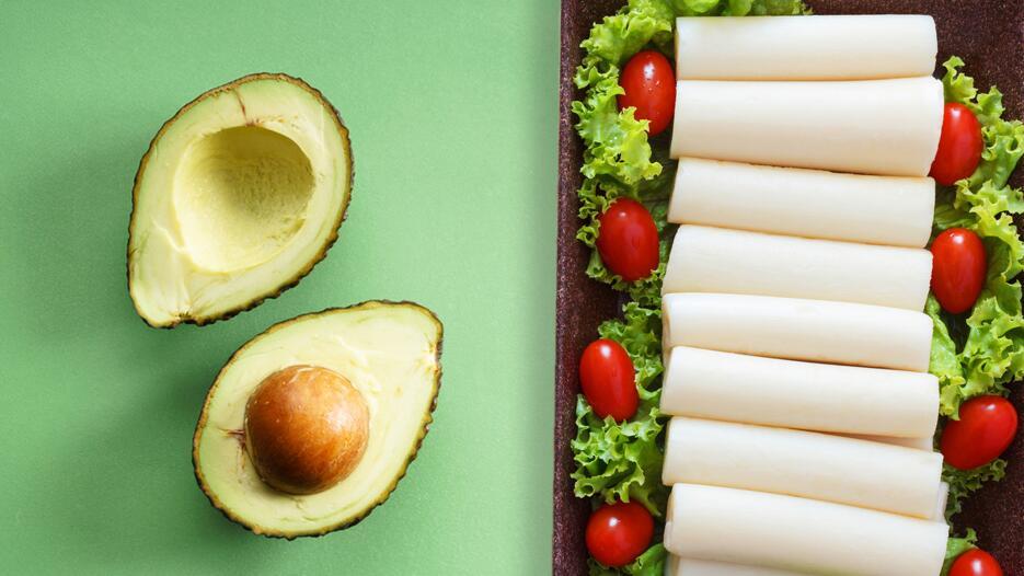 Parar preparar esta ensalada solamente hay que mezclar los ingredientes...