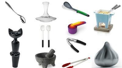 Utensilios de cocina collage