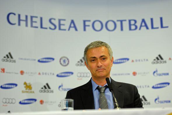 Mourinho fue presentado con Chelsea