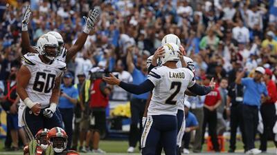Highlights Temporada 2015 Semana 4: San Diego Chargers 30-27 Cleveland B...