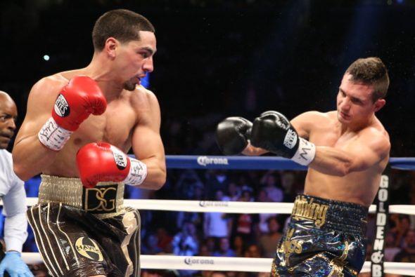 García le dio tres minutos de vida a Salka, en el segundo round lo terminó.