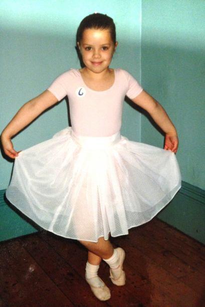 Desde pequeña, Katie adoraba bailar ballet.