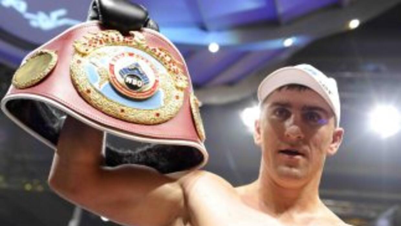 Marco Huck sólo ha perdido una vez en 31 combates y ha defendido exitosa...