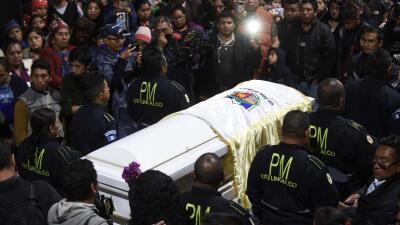 En fotos: La llegada a su tierra natal de la joven guatemalteca asesinada por un agente fronterizo en Texas