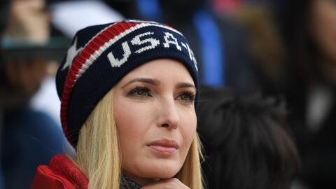 Ivanka Trump, hija del presidente y una de sus principales consejeras, d...