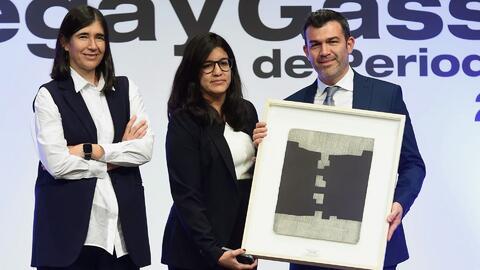 Periodistas de Univision son galardonados con el premio Ortega y Gasset