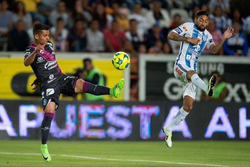Puebla saca de Pachuca un meritorio empate sin goles Carlos Gutierrez Pu...