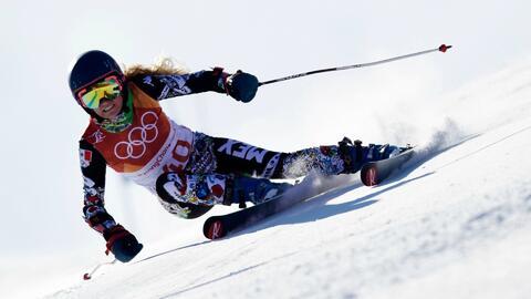 Sarah Schleper es la seleccionada olímpica mexicana con mayor exp...