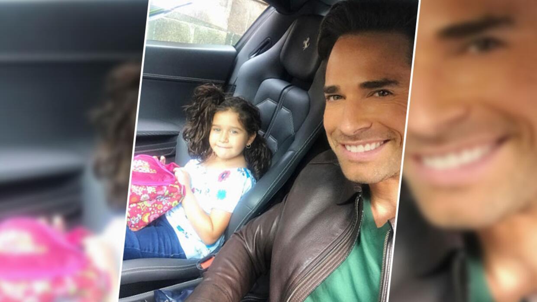 Sebastián Rulli y su hija en 'Papá a toda madre'