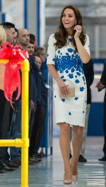 Los 50 mejores vestidos que usó Kate Middleton en 2016 GettyImages-59474...