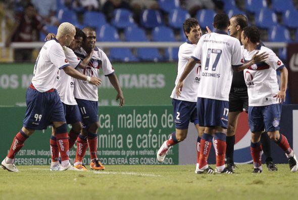 El Bahía sorprendió a propios y extraños para vencer al Fluminense que n...