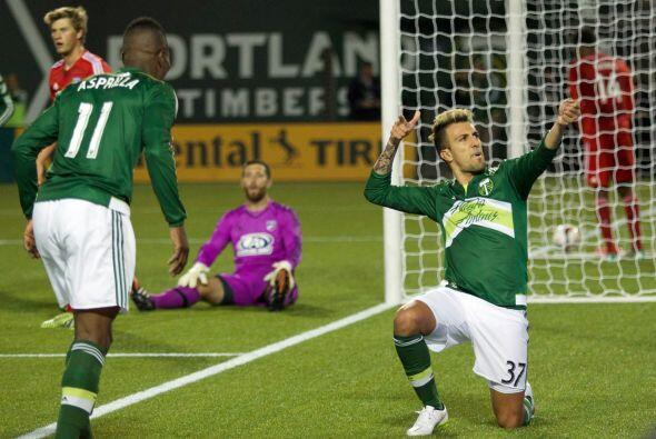 Portland Timbers logró su primer triunfo de la temporada al vence...