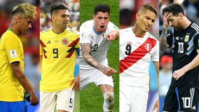 Excepto Uruguay, repaso por el fracaso sudamericano de la jornada 1 en el Mundial de Rusia