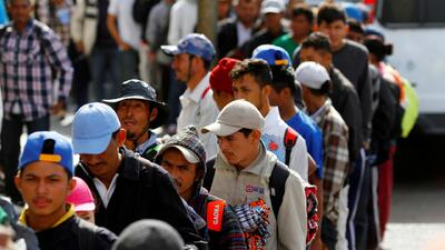 Declaraciones públicas de los integrantes de la caravana migrante podrían afectar la solicitud de asilo