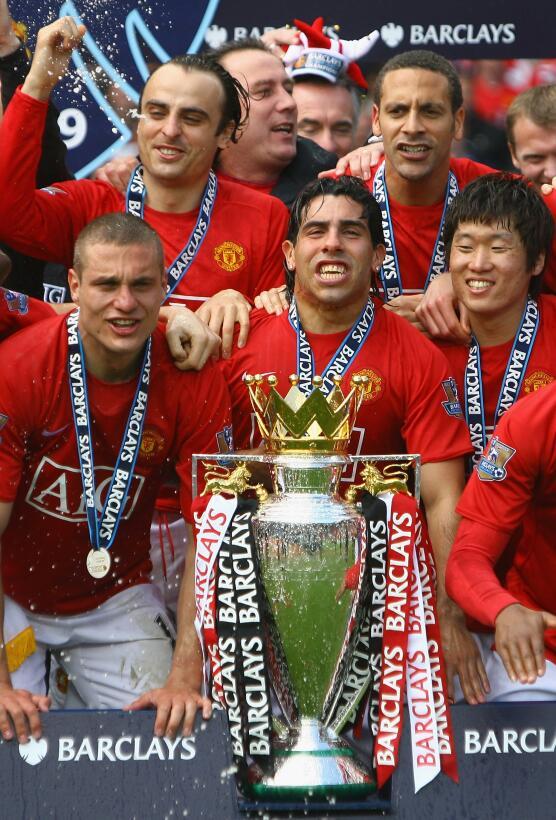6. Manchester United (2008/2009) - 90 puntos y +44 en diferencia de gol....