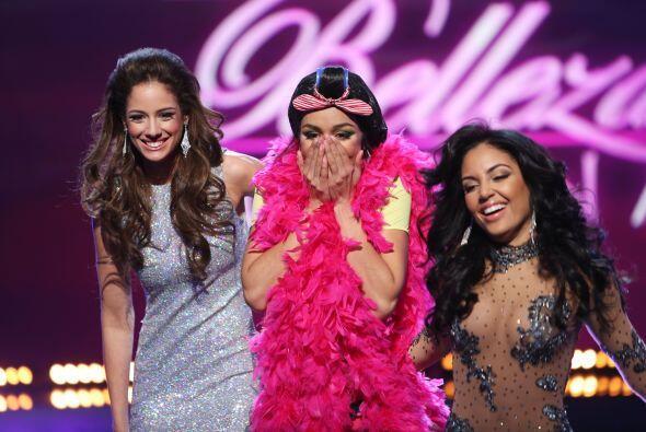 Estas tres chicas fueron las afortunadas de pasar a la siguiente ronda y...