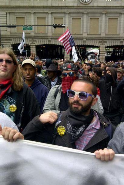 Protestas en Chicago contra la OTAN, día 2