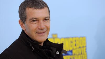 Antonio Banderas es el pirata malo de 'The SpongeBob Movie'