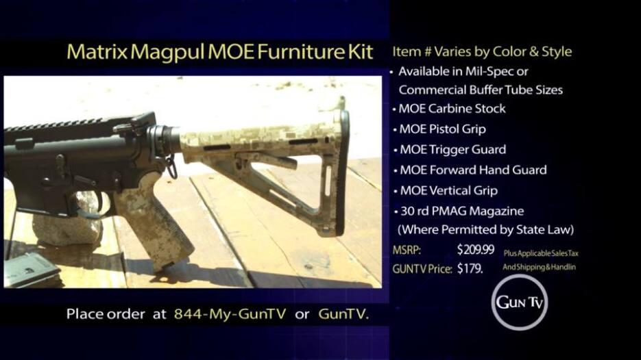 Desde la comodidad de su hogar podría comprar un AK-47 llamando a Gun TV.