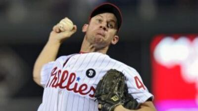 Oswalt ha lanzado por los Phillies desde julio del 2010 cuando fue canje...