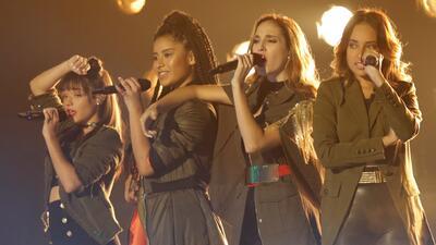 Hubo fuego entre estas cuatro chicas y ellas prefieren cantar en grupo