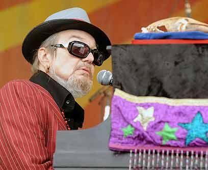 Dr. JohnEl músico de New Orleans abrió la segunda temporada de la serie...