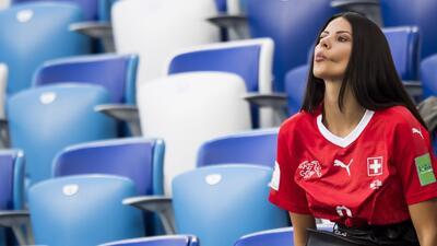 El buen ambiente en el Spartak Stadium lo pusieron las mujeres de Suiza y Costa Rica